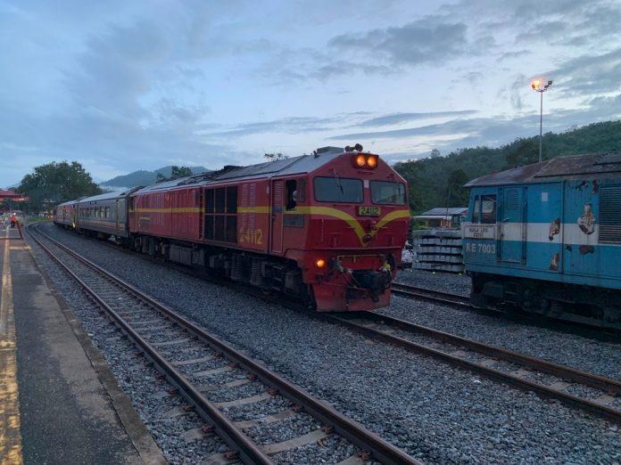 PKP: Perkhidmatan kereta api diteruskan