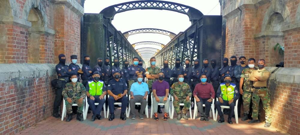 Latihan Paskal Di Jambatan Victoria, Kuala Kangsar