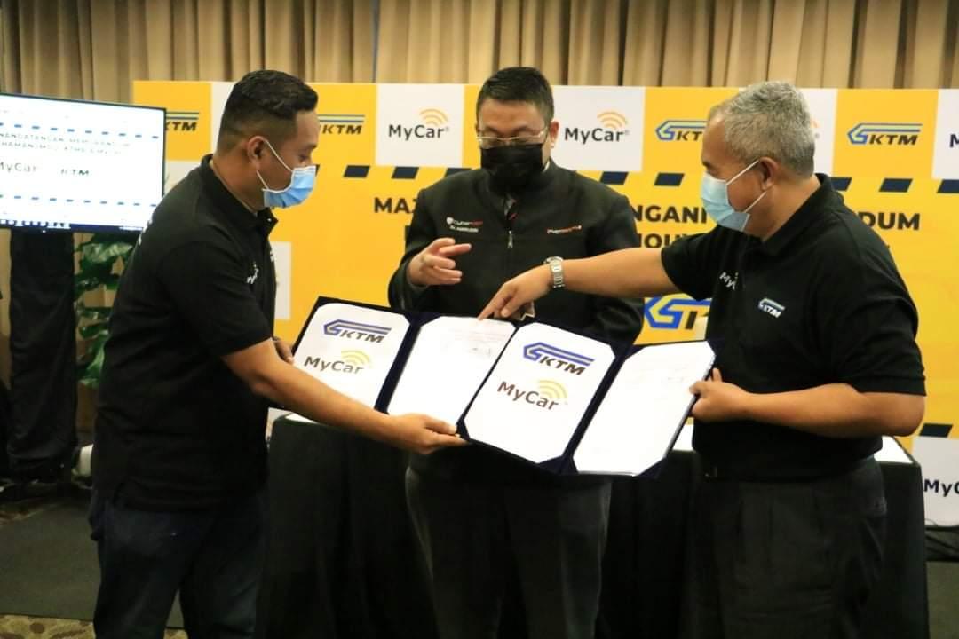 Majlis Menandatangani MoU KTMB – MYCAR